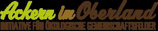 Ackern im Oberland Logo
